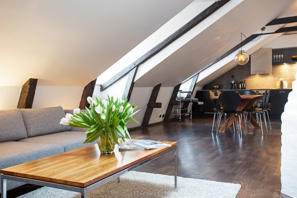 Swedish Attic Apartment