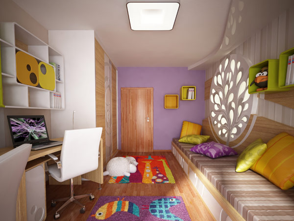 Handsome Children's Bedroom Design