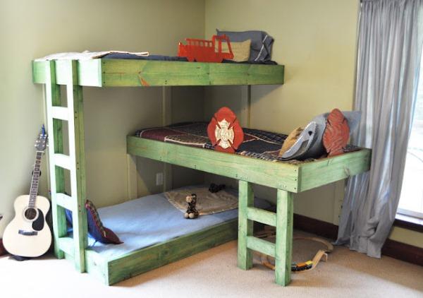 Triple Bunk-Beds