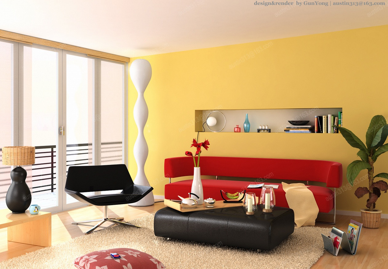 29-Yellow-Red-Living-Room