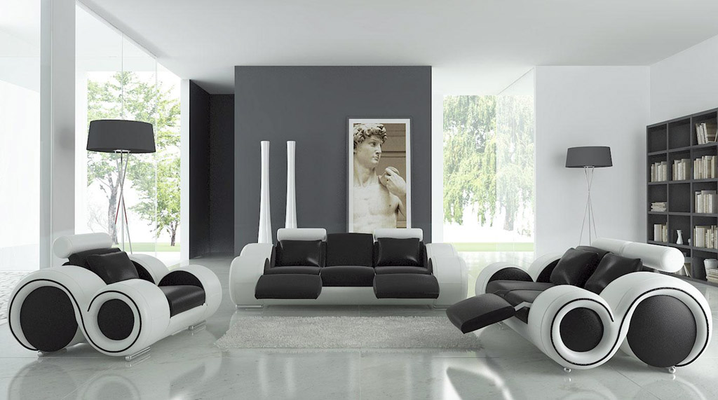 modern-living-room-in-black-and-white-theme