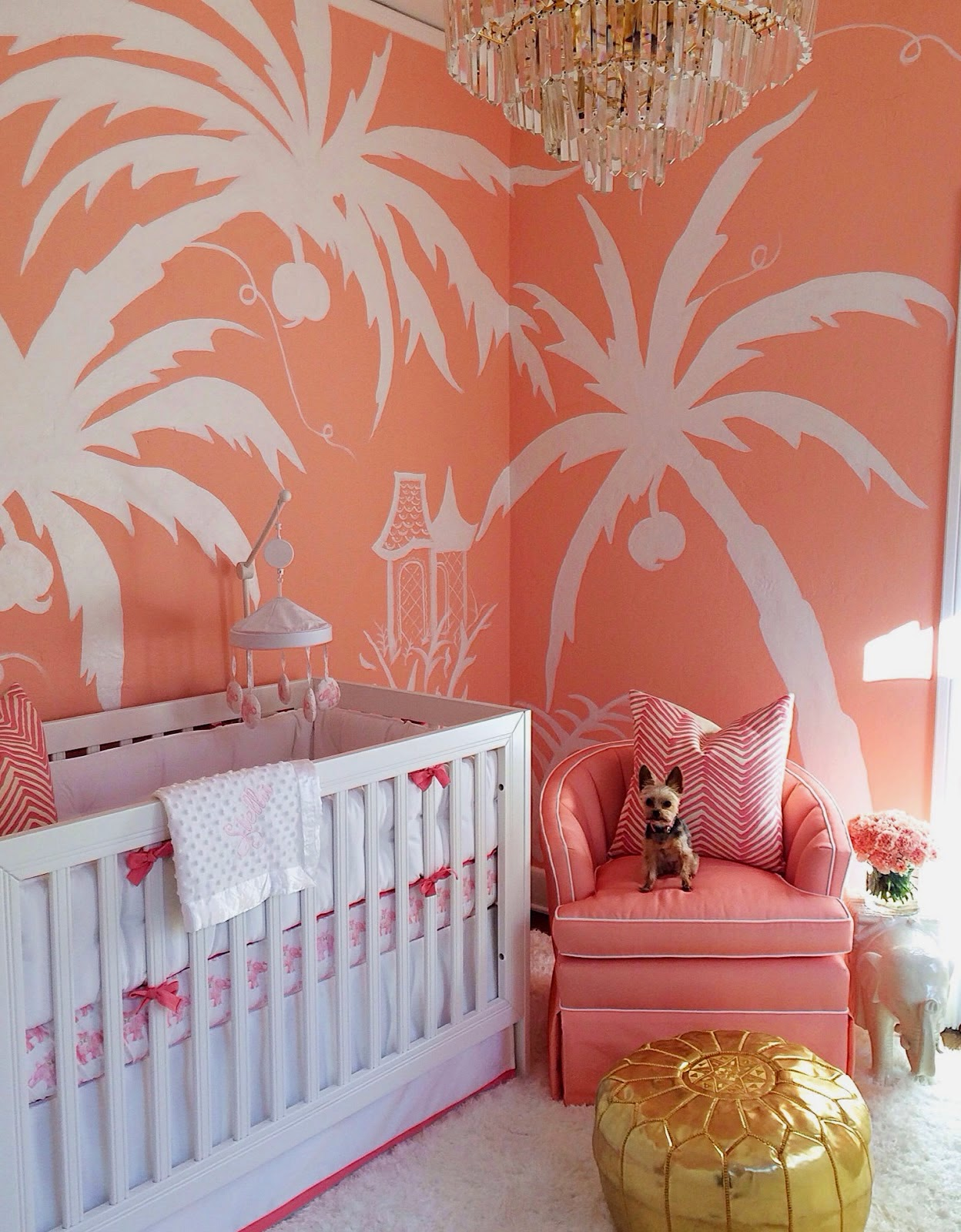 palm-beach-chic-hollywood-regency-glamorous-elegant-chinoiserie-pink-nursery